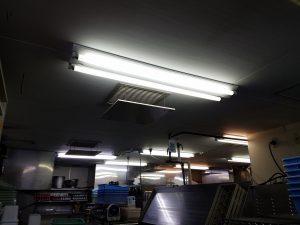 愛知県一宮市にて照明器具取替電気工事