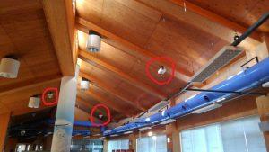 名古屋市港区の公共施設にて非常用照明器具取替電気工事