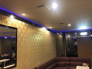 名古屋市中区の飲食店様にてリフォーム改装にかかる電気工事