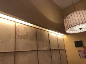 緑区の飲食店にて間接照明の取替電気工事
