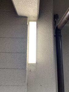 名古屋市緑区のマンションにてウォールライトの取替電気工事