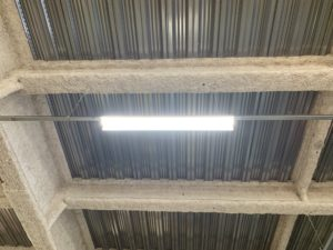 名古屋市港区の工場にて照明器具の取替電気工事