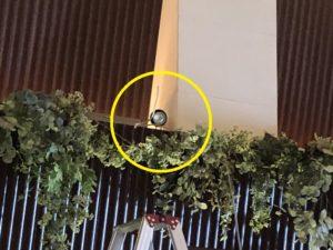 愛知県豊田市の結婚式場内教会にてスポットライトの増設電気工事