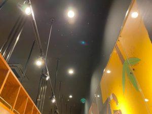 愛知県蟹江市の商業施設のテナントにてコンパクト蛍光灯の取替電気工事