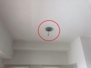 名古屋市瑞穂区のマンションにてocto smallのコード長調節及びダクトレール取付電気工事