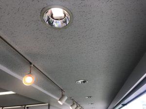 名古屋市中区のオフィスビルにてダウンライトの取替電気工事